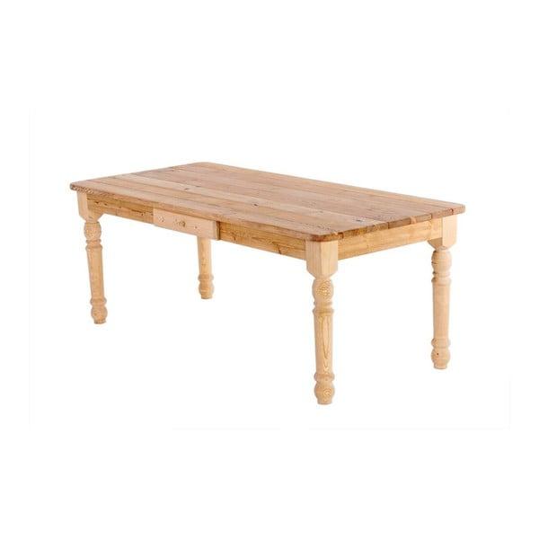 Zahradní stůl se zásuvkou Siesta Natural, 200x90 cm
