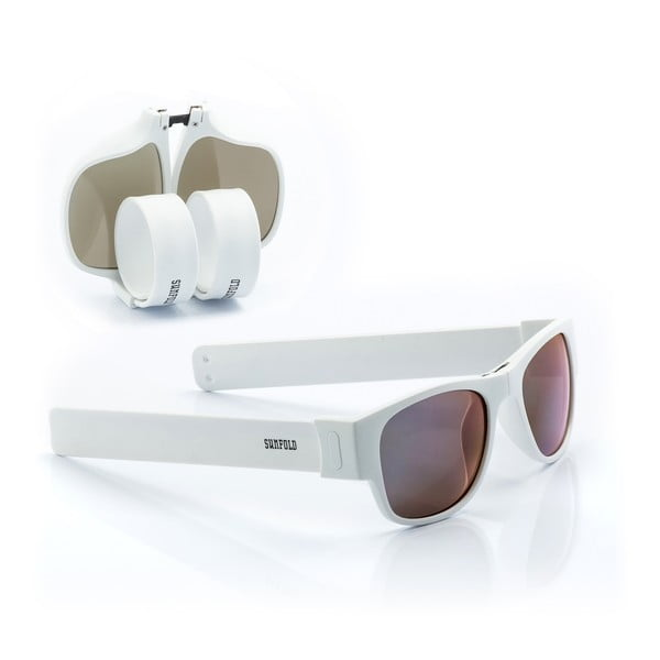 Bílé sluneční srolovatelné brýle InnovaGoods Sunfold ES4