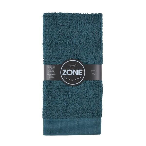 Tmavě zelený ručník Zone Dark,50x100cm