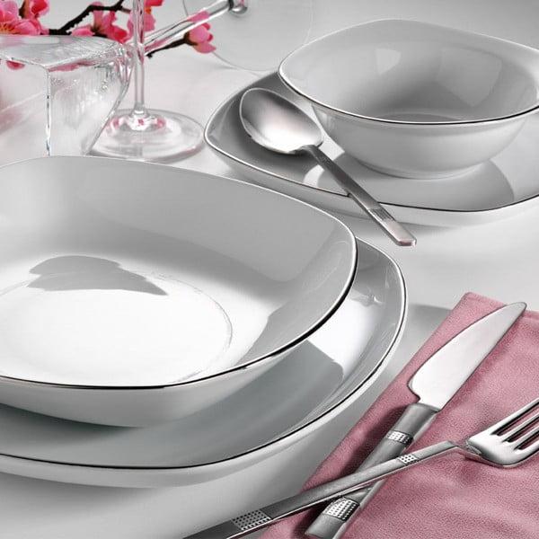 24dílná sada porcelánového nádobí Kutahya Bantero