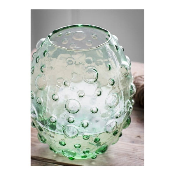 Zelená váza Garden Trading Berriedale, výška26cm