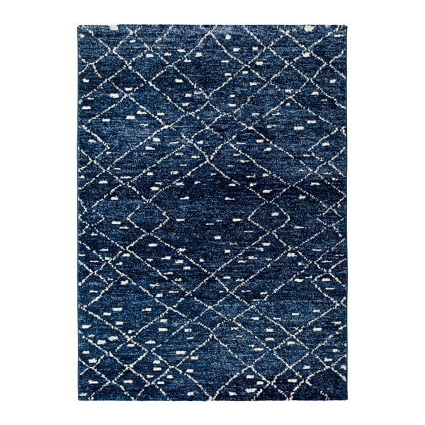 Indigo Azul kék szőnyeg, 60 x 120 cm - Universal