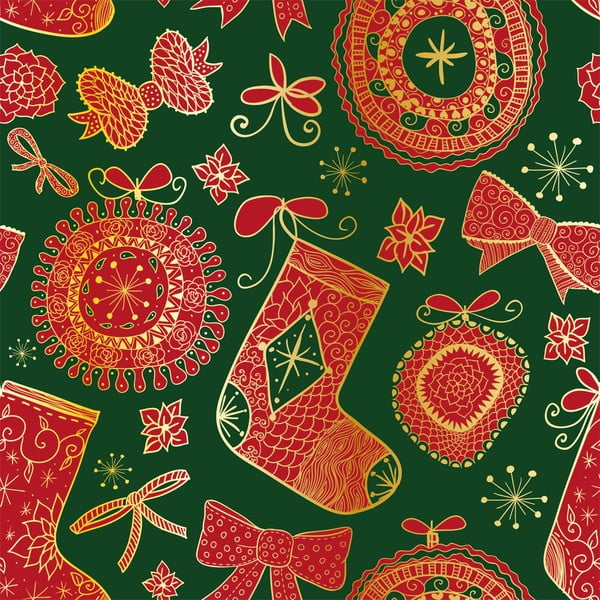 Ubrus Christmas V12, 150x150 cm