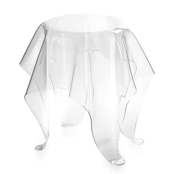 Stolek Drappeggi Tavolino Transparente