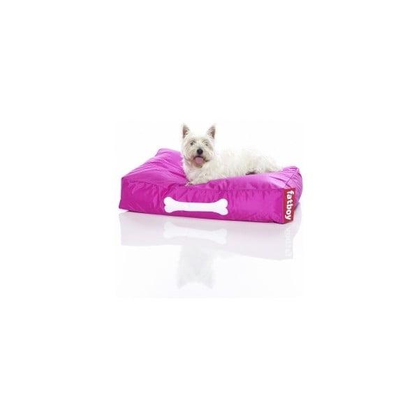 Růžový pelíšek pro psy Fatboy Doggieloung, vel. S