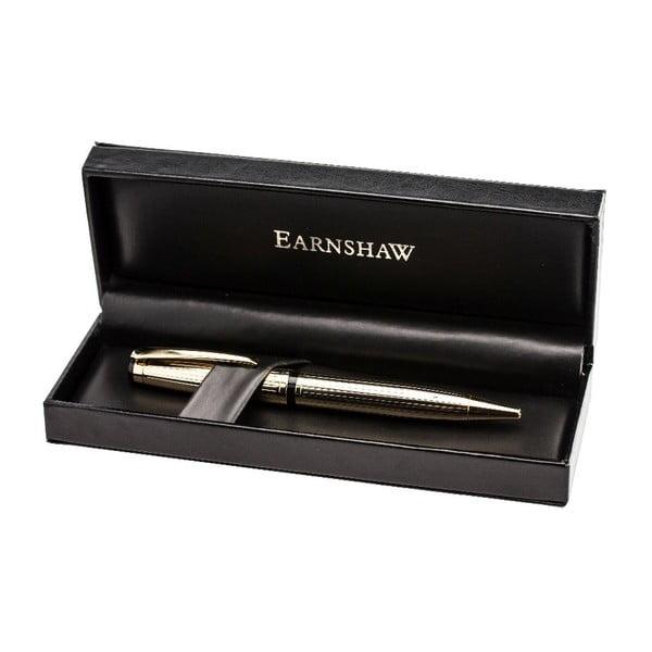 Pozlacené kuličkové pero v dárkovém boxu Thomas Earnshaw Longcase