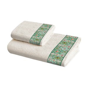 Sada 2 bavlněných ručníků Crido Consulting Mosaic