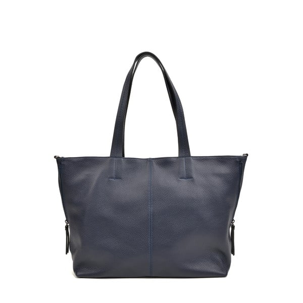 Modrá kožená kabelka Roberta M Ambra