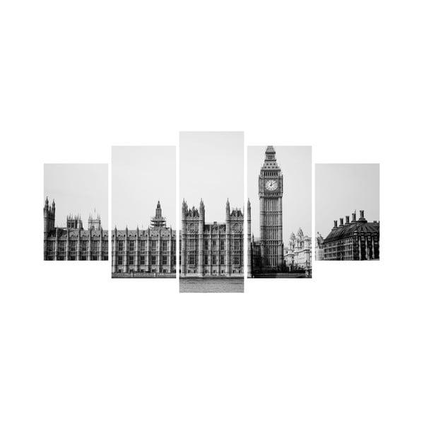 Vícedílný obraz Black&White no. 14, 100x50 cm