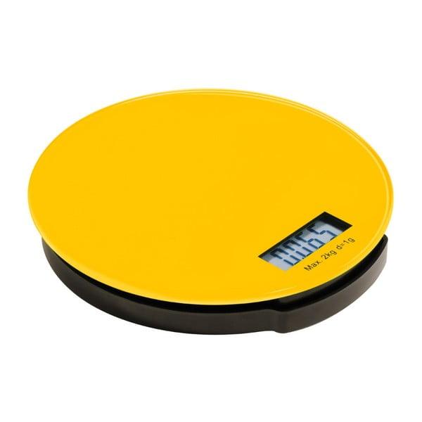 Cântar de bucătărie digital Premier Housewares Zing, galben