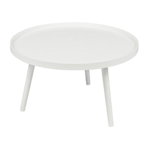 Bílý konferenční stolek WOOOD Mesa, Ø60cm