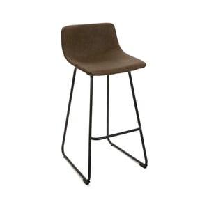 Černá barová židle Versa Bar, výška 92 cm