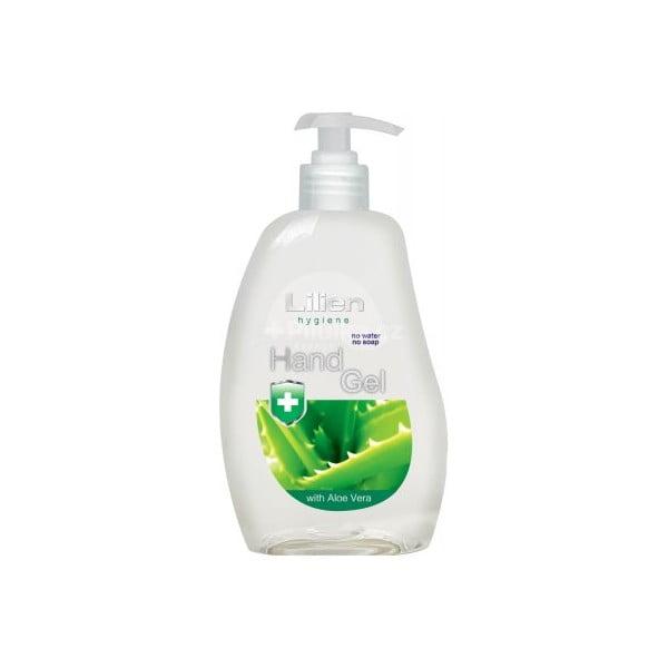 Antibakteriální gel na ruce s aloe vera Lilien Hand Gel, 500 ml