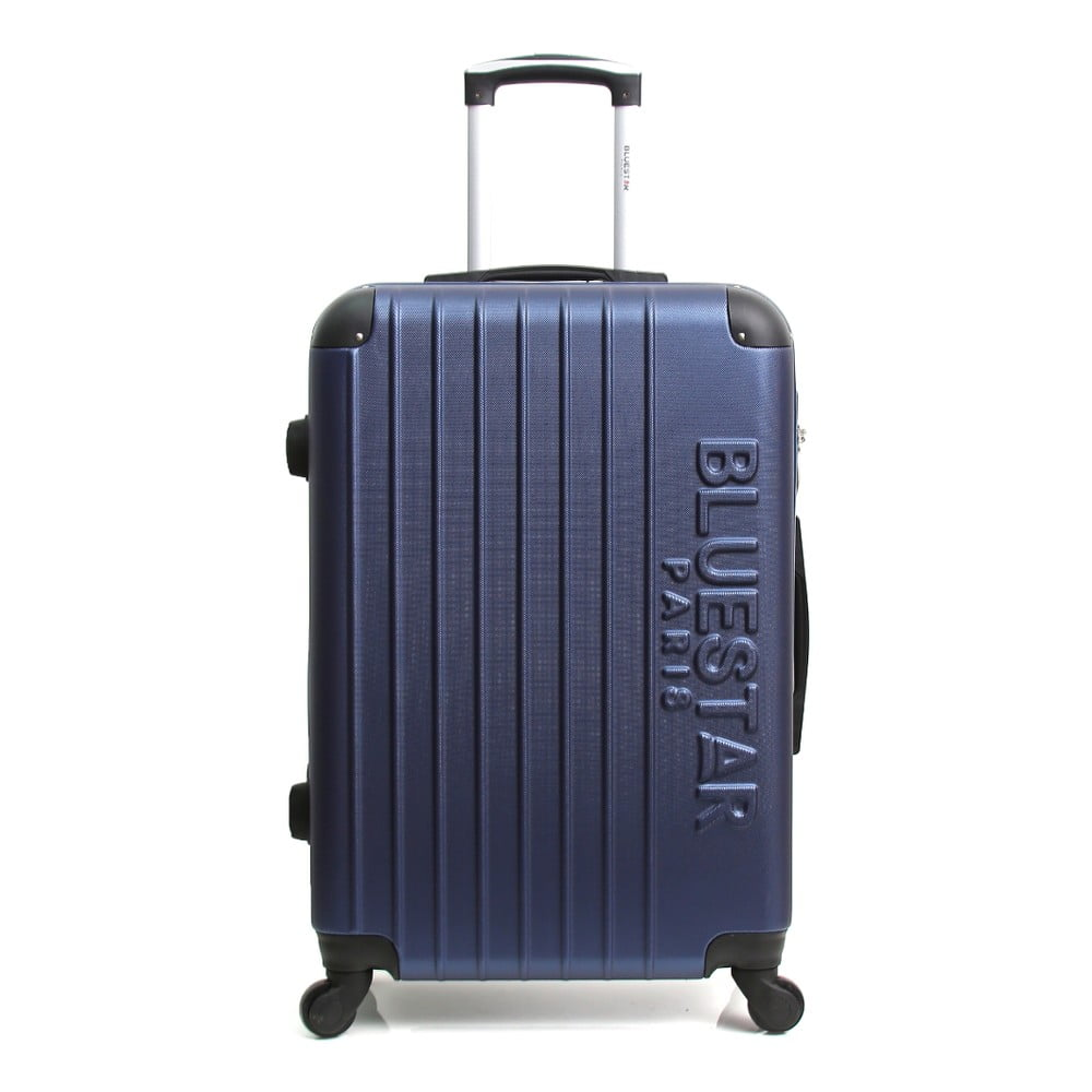 Tmavě moderý cestovní kufr na kolečkách Blue Star Bucarest, 57 l