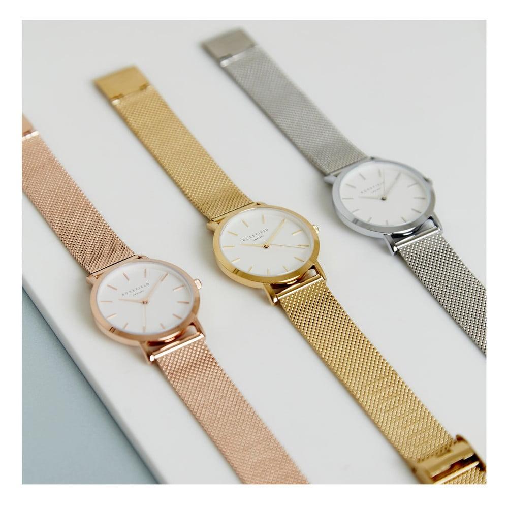 ... Bílomodré dámské hodinky Rosefield The Mercer ... b8b445be74
