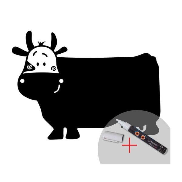 Tabulová samolepka s tekutou křídou MaDéco Funny Cow
