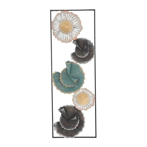 Železná nástěnná dekorace s květinovými motivy Mauro Ferretti Lec Natura
