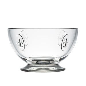 Skleněná miska La Rochère Fleur de Lys, 270 ml