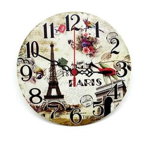 Nástěnné hodiny Natural Paris, 30 cm