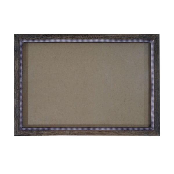 Hnědý dřevěný rám na fotografie Mendler Shabby, 26x36cm
