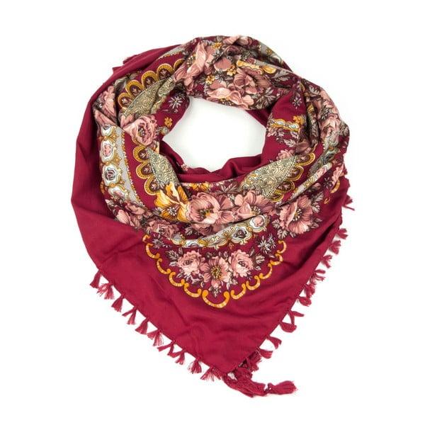 Šátek Flora Red