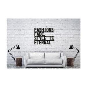 Černá nástěnná dekorace Oyo Concept Eternal Style, 60x50cm