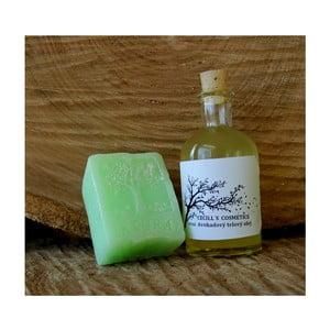 Dárková sada mýdlo a tělový olej, zelený čaj