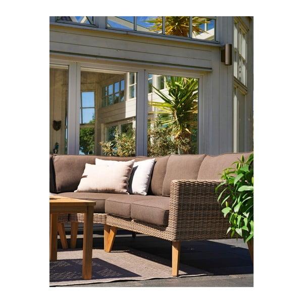 Pravý krajní díl zahradní sedačky Norwalk Brafab