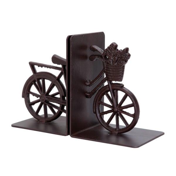 Zarážky na knihy Bicycle, antracitové