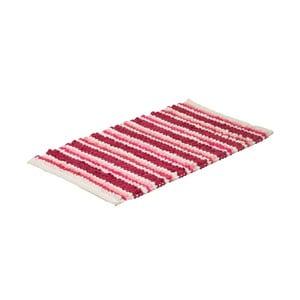 Koupelnová předložka Raspberry Stripe, 50x80 cm