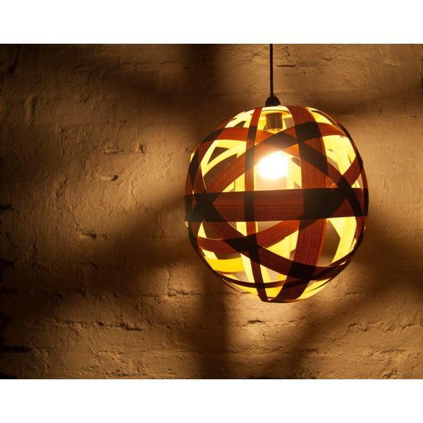 Ručně vyráběné světlo Clementine, třešeň