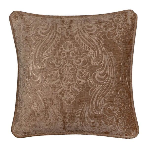 Hnědý povlak na polštář Kate Louise Exclusive Ranejo, 45 x 45 cm