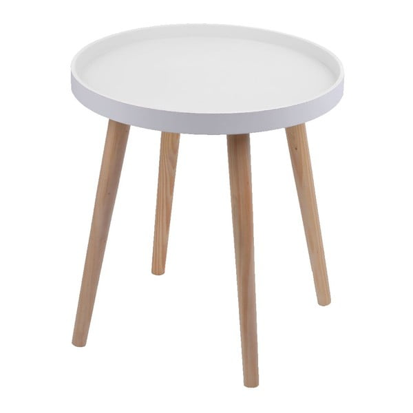 Stolek Simple Table 38 cm, bílý