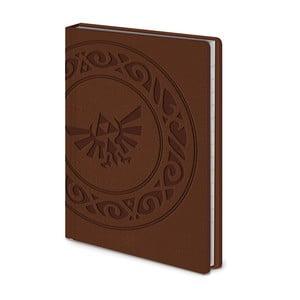 Linkovaný zápisník A6 Pyramid International The Legend of Zelda, 56 stran