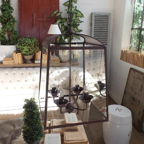 Stropní svítidlo Orchidea Milano Antique Rusty, 4 světýlka