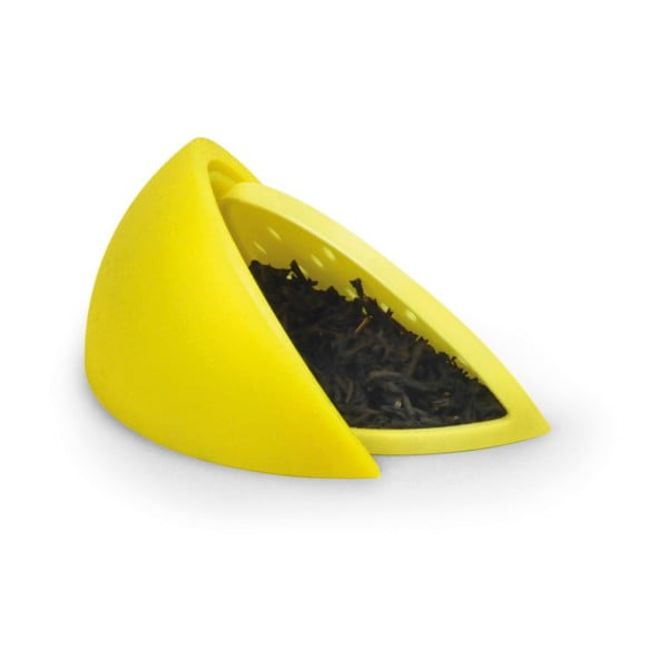 Žluté sítko na čaj Fred & Friends Lemon Tea