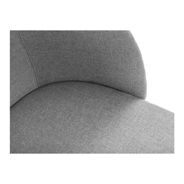 Světle šedá jídelní židle Windsor & Co Sofas Antheia