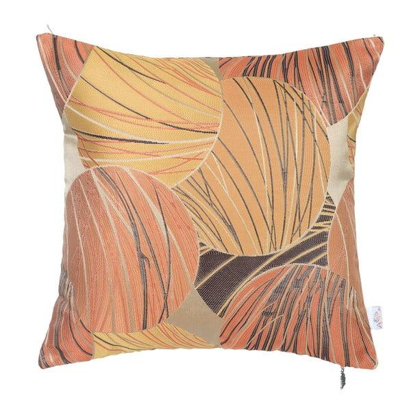 Povlak na polštář Apolena Lina, oranžový