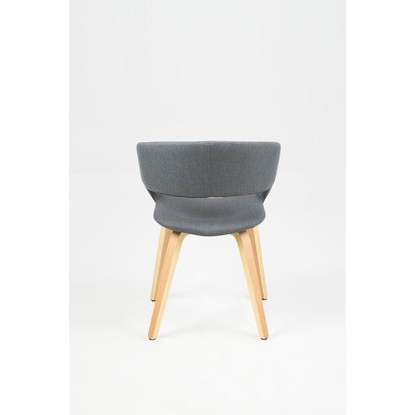 Tmavě šedá jídelní židle Actona Grace