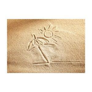 Covor din vinilin Sand, 52x75 cm