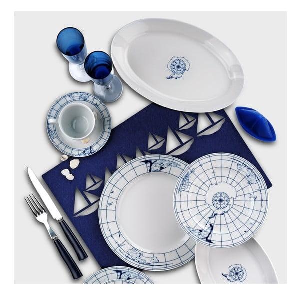 24dílná sada porcelánového nádobí Kutahya Muliasa