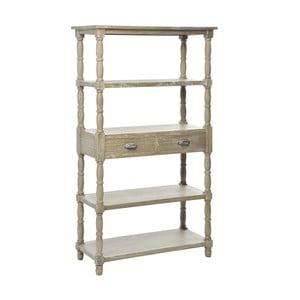 Regál Rack Grey, 90x40x157 cm