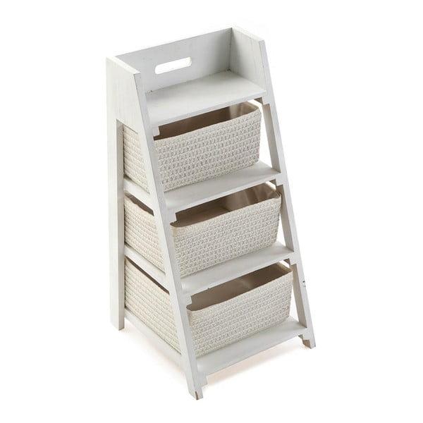 Stojan se třemi košíky Cabinet White