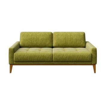 Canapea cu 2 locuri MESONICA Musso Tufted verde