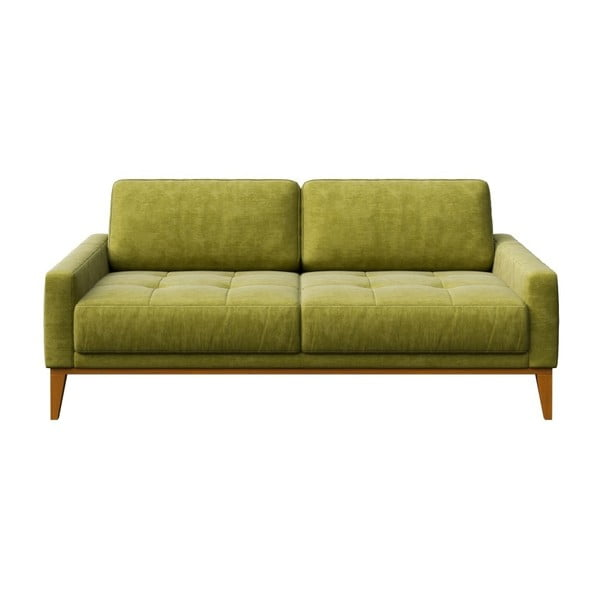 Dvojmiestna pohovka v zelenej farbe MESONICA Musso Tufted