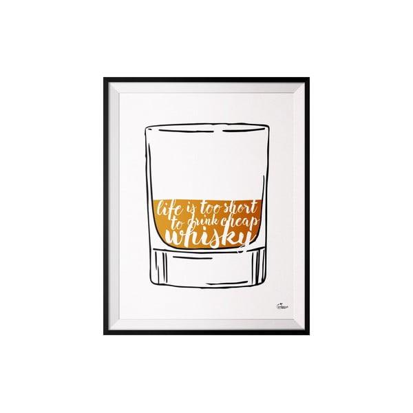 Plakát Whisky, 40x50 cm