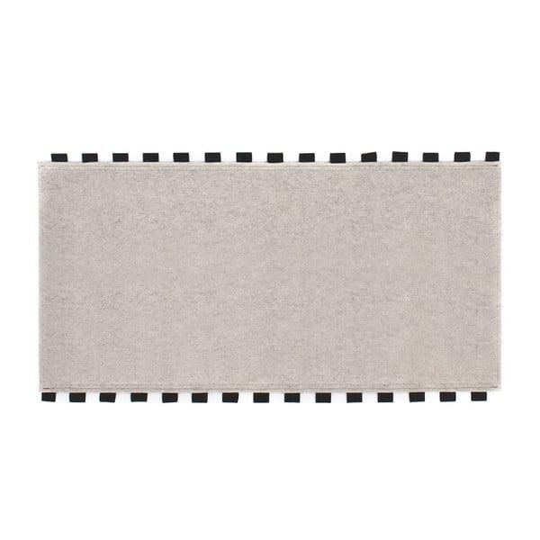 Tapperello White, koberec 120x65 cm