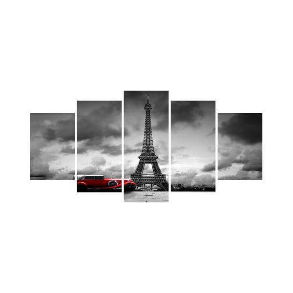 Vícedílný obraz Black&White no. 79, 100x50 cm