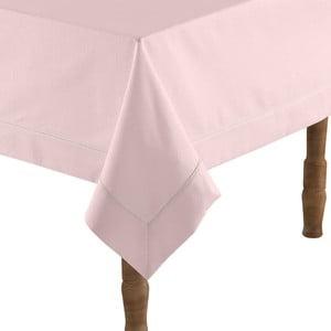 Pudrově růžový ubrus na stůl s příměsí bavlny Bella Maison,160x160cm