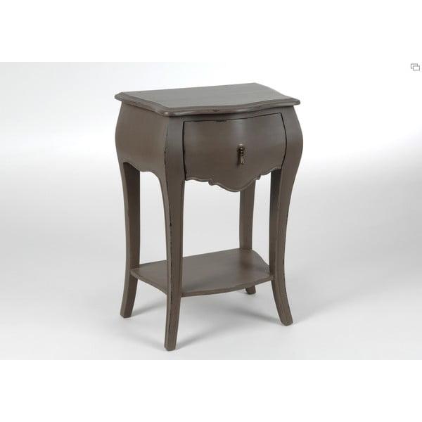 Noční stolek Muran Taupe